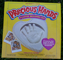Webster Precious Hands Plaster Molding Kit